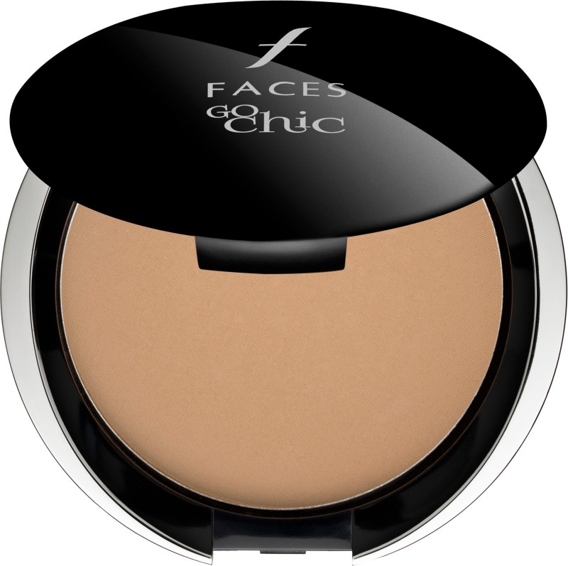 Faces Go Chic Pressed Powder Compact - 9 g(Sand 04)