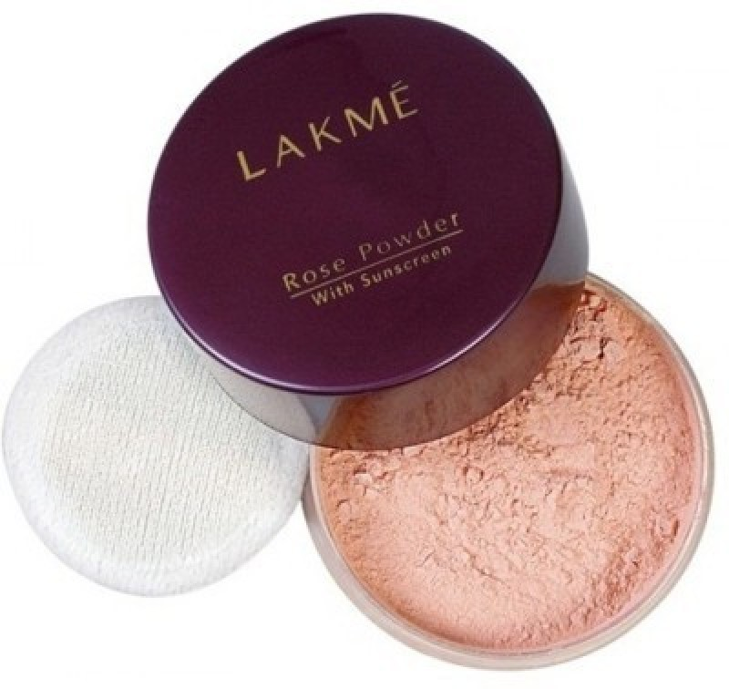 Lakme Rose Powder with Sunscreen Compact - 40 g(01 soft pink)