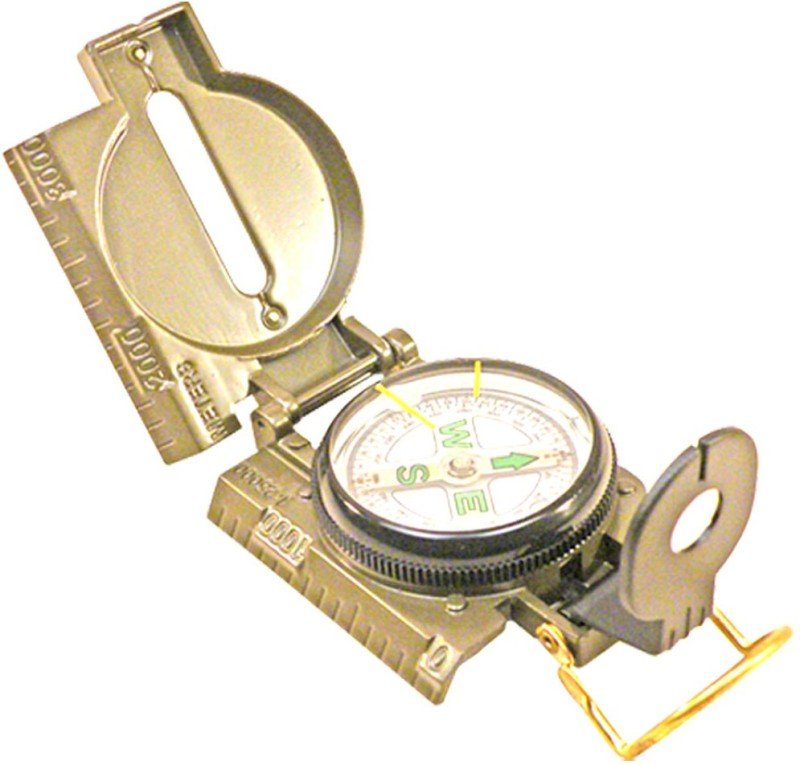 JM Metal Magnetic Compass(Gold)
