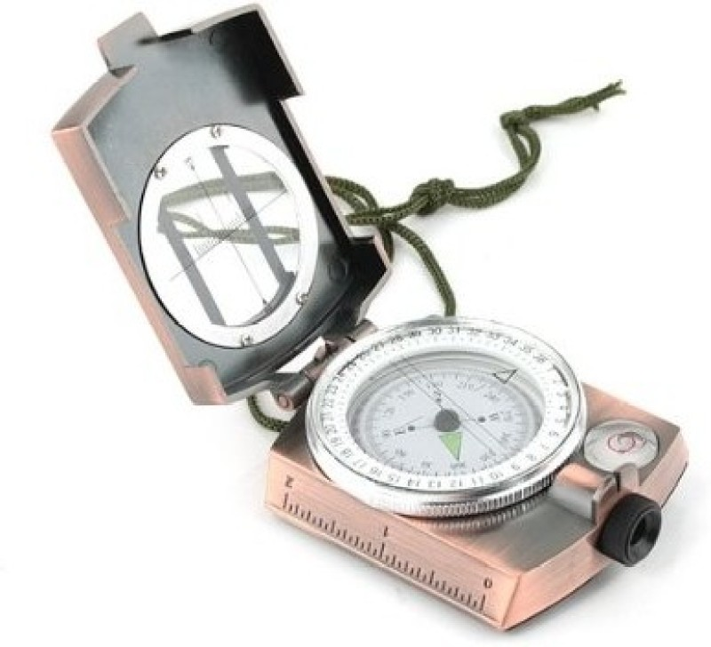 Pia International Prismatic Copper Compass(Brown)