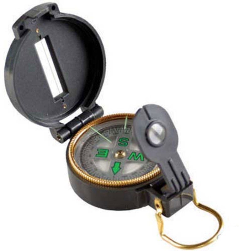 JM Military Camping 360 Compass(Black)