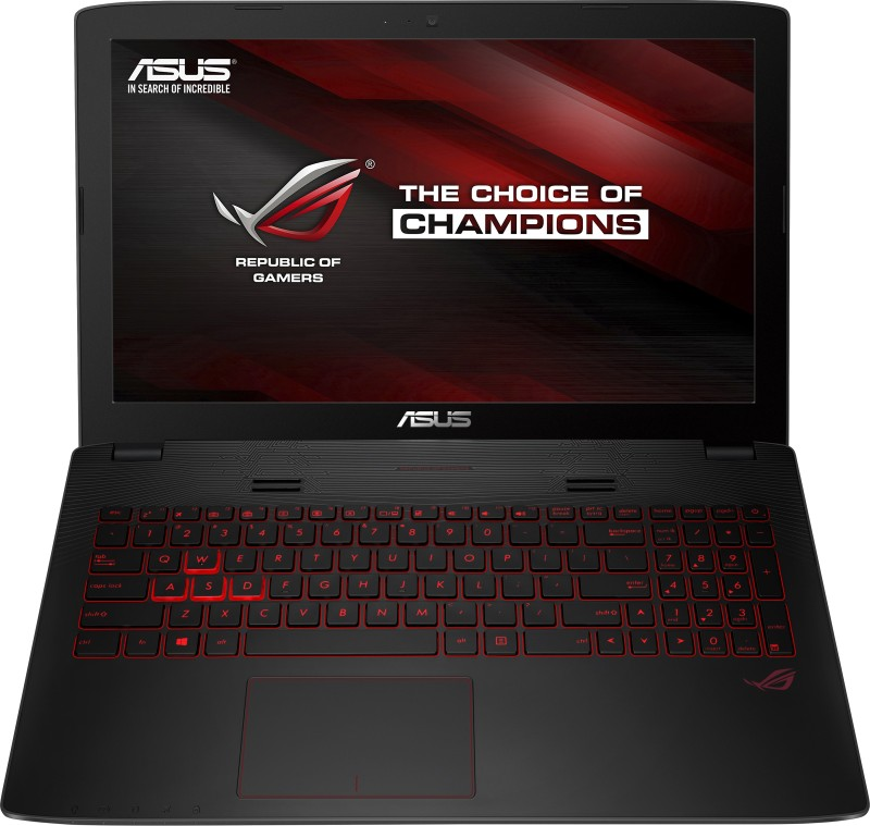 Asus ROG Core i7 6th Gen - (8 GB/1 TB HDD/Windows 10 Home/4 GB Graphics) GL552VX-DM261T Gaming Laptop(15.6 inch, Black, 2.59 kg) image
