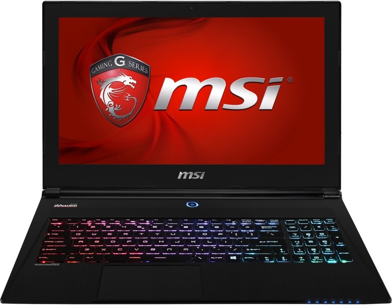MSI GS60 2PL Ghost Notebook (4th Gen Ci7/ 8GB/ 1TB/ Win8.1/ 2GB Graph)(15.6 inch, Black Aluminum, 1.9 kg) image
