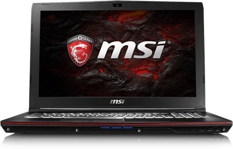 MSI GP Core i7 7th Gen - (16 GB/1 TB HDD/128 GB SSD/Windows 10 Home/4 GB Graphics) GP62 7RD Gaming Laptop(15.6 inch, Black, 2.4 kg) image