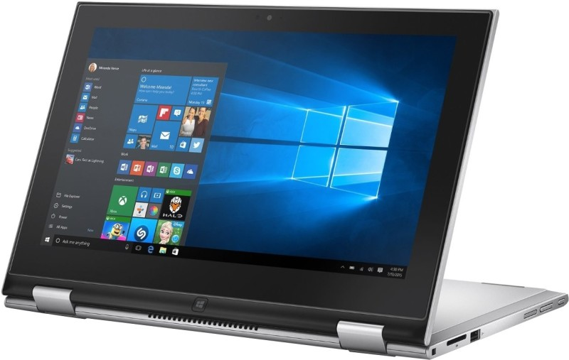 Dell Inspiron Core i3 6th Gen - (4 GB/500 GB HDD/Windows 10 Home) 3158 2 in 1 Laptop(11.6 inch, SIlver, 1.3 kg)