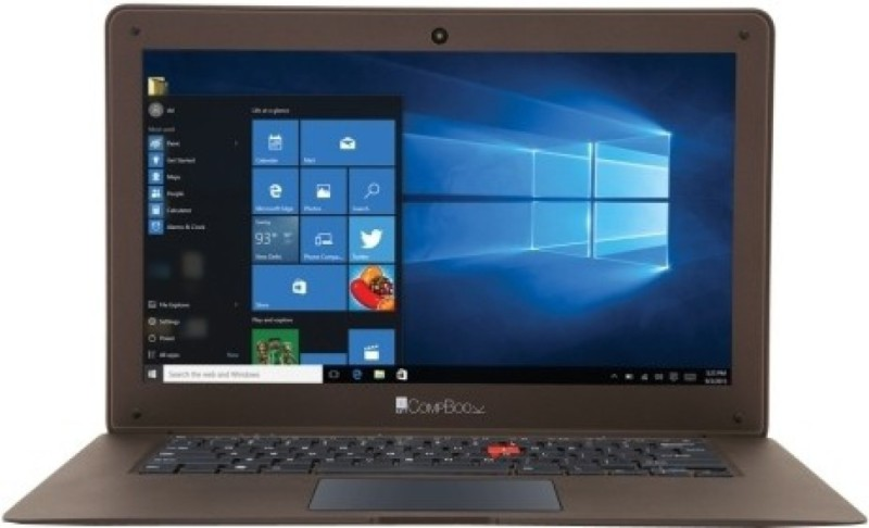 Iball Netbook Atom Quad Core - (2 GB/32 GB EMMC Storage/Windows 10 Home) CompBook Exemplaire Thin and Light Laptop(14 inch, Cobalt Brown, 1 kg) image