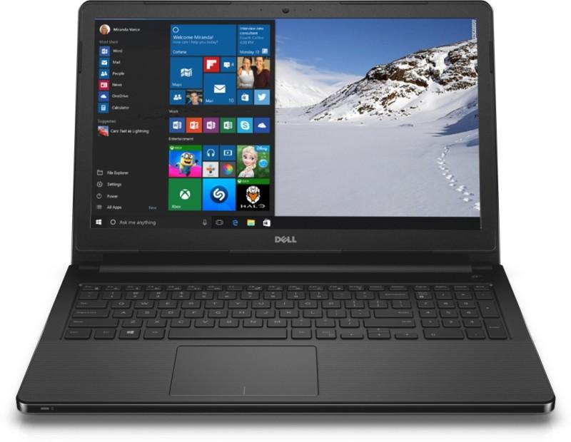 Dell 3000 APU Quad Core E2 6th Gen - (4 GB/500 GB HDD/Windows 10 Home) 3555 Laptop(15.6 inch, Black)