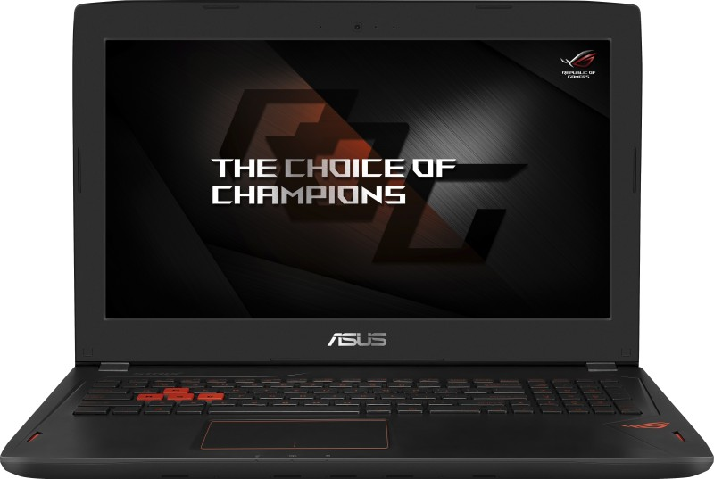 Asus ROG Core i7 7th Gen - (8 GB/1 TB HDD/256 GB SSD/Windows 10 Home/6 GB Graphics) GL502VM-FY230T Gaming Laptop(15.6 inch, Black Aluminum, 2.24 kg) image