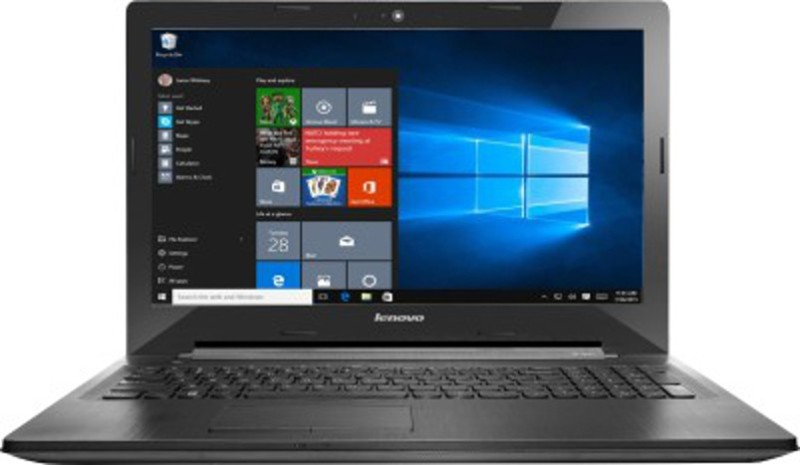 Lenovo G50-80  Laptop (15.6 Inch|Core I3|8 GB|Win 10 Home|1 TB)