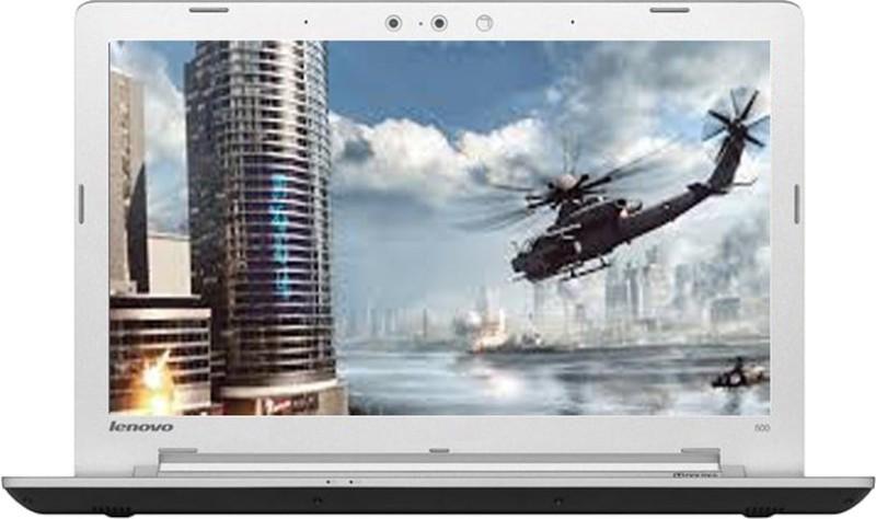 Lenovo Ideapad 500 Core i5 6th Gen - (4 GB/1 TB HDD/Windows 10 Home/2 GB Graphics) 500-15ISK Laptop(15.6 inch, Black, 2.3 kg) image