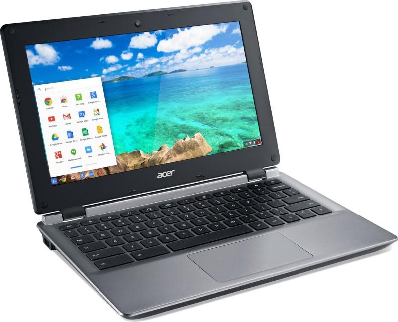 Acer Chromebook Celeron Dual Core - (2 GB/32 GB HDD/32 GB EMMC Storage/Chrome) C730-C890 Laptop(11.6 inch, Granite Grey, 1.44 kg)