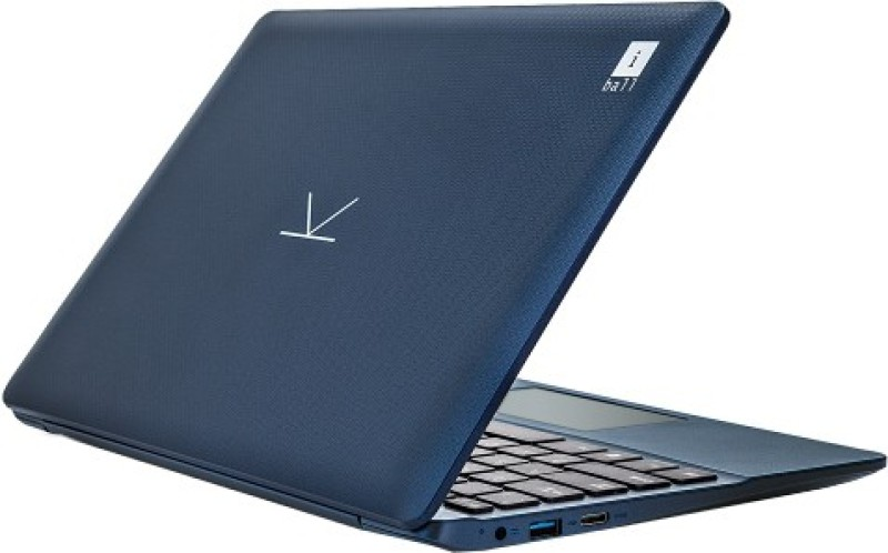 Iball Atom Quad Core - (2 GB/32 GB EMMC Storage/Windows 10 Home) CompBook Excelance Laptop(11.6 inch, Blue, 1 kg) image