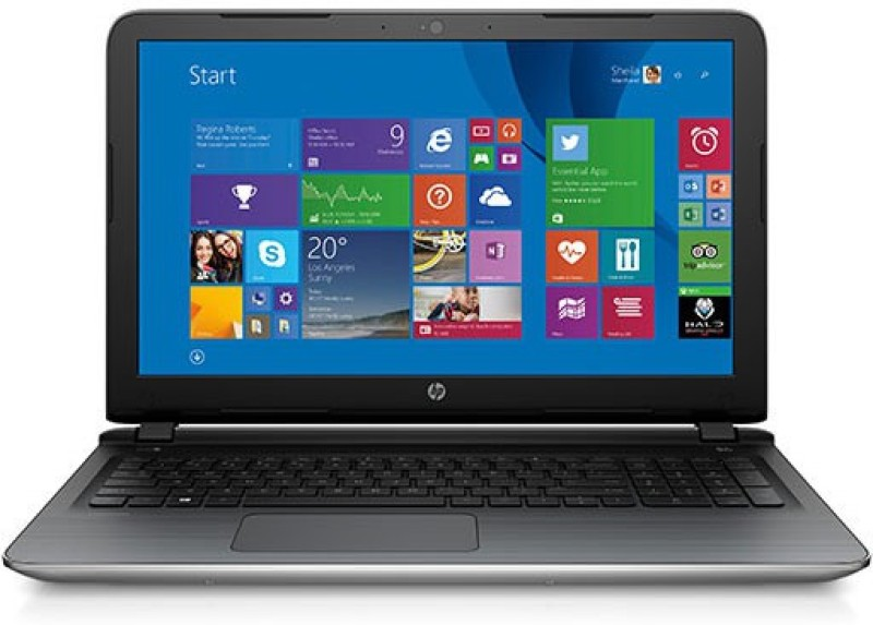 HP Pavilion Core i5 5th Gen - (4 GB/1 TB HDD/Windows 10 Home/2 GB Graphics) 15-ab205tx Laptop(15.6 inch, Natural SIlver, 2.09 kg)