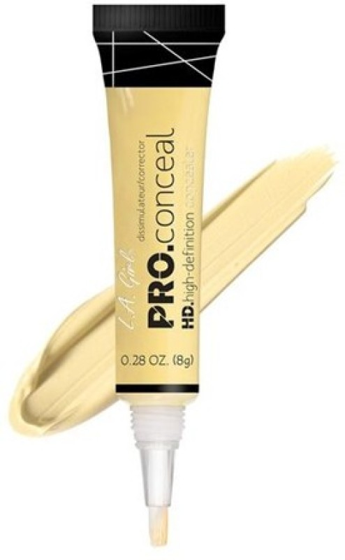 L.A. Girl HD PRO CONCEAL Concealer(Yellow Corrector, 8 g)