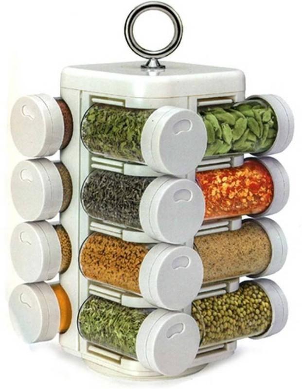 Shree Shop 16 Piece Condiment Set(Plastic)