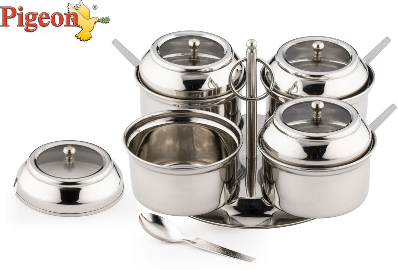 Pigeon 4 Piece Condiment Set(Stainless Steel)