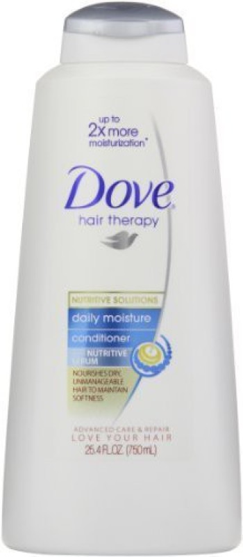 Dove Dove Damage Therapy Daily Moisture Conditioner, 25.4 Ounce, Packaging May Vary (Pack of 2)(751 ml)