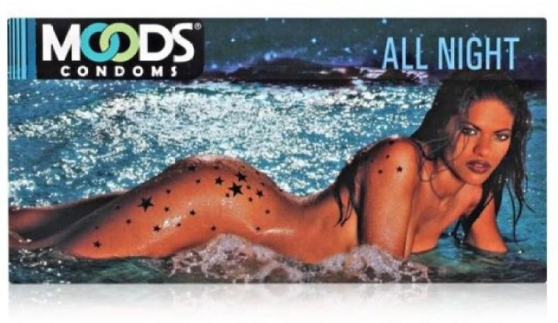 Moods ALL NIGHT CONDOMS Condom(Set of 10, 100S)