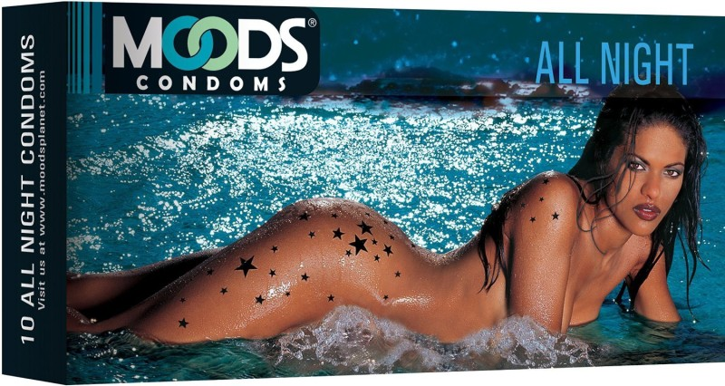 Moods All Night Climax Delay Condom(Set of 1, 10S)