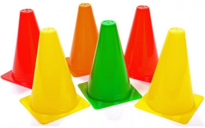 Kobo Cone Marker Pack of 6(Multicolor)