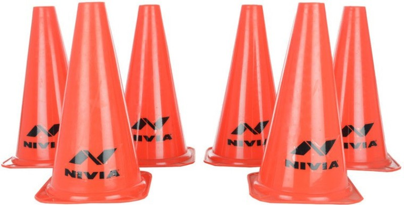Nivia Cone Marker Pack of 6(Red, Yellow)