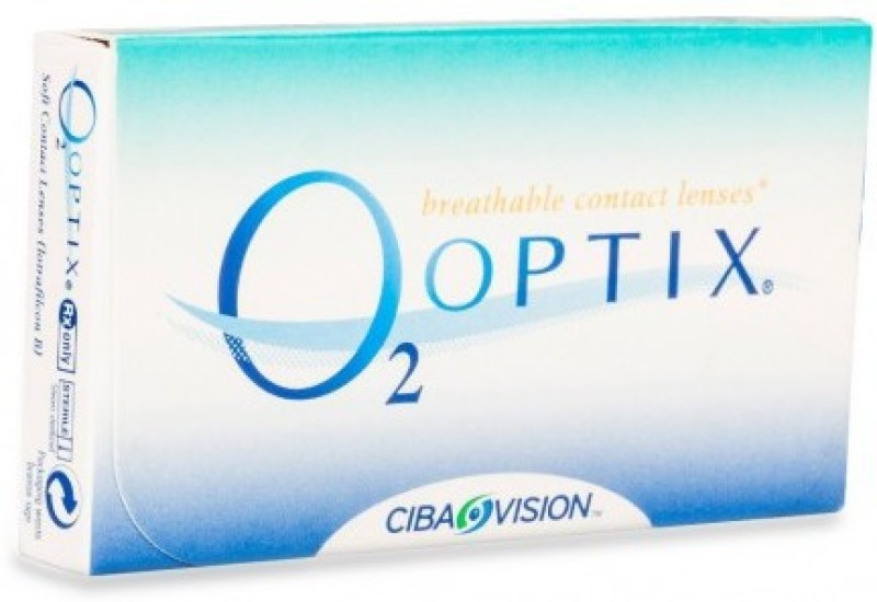 Ciba Vision O2optix Monthly(-4.75, Colored Contact Lenses, Pack of 6)