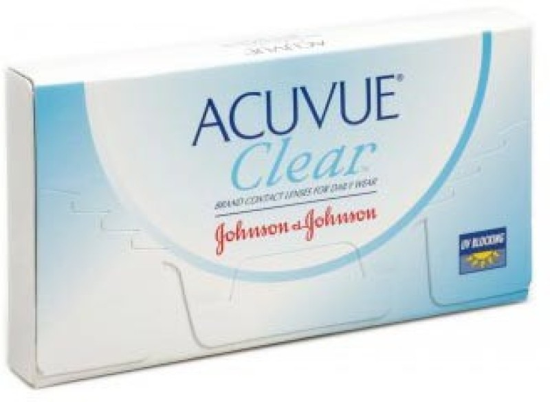 Johnson & Johnson Acuvue Clear Monthly Contact Lens(-2.25, Clear, Pack of 6)