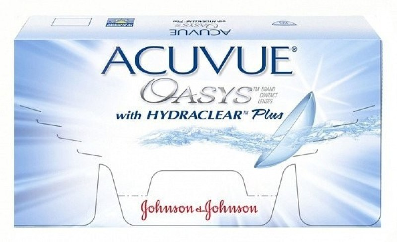 Johnson & Johnson ACUVUE Oasys-10.50 Bi-weekly(-10.5, Contact Lenses, Pack of 6)