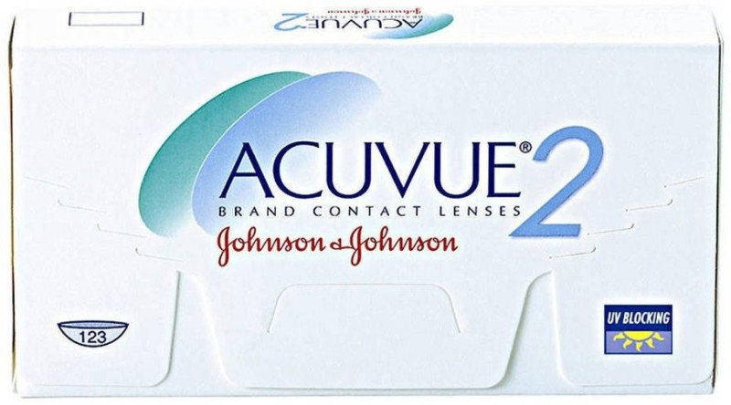 Johnson & Johnson Acuvue 2 Bi-weekly Contact Lens(-8.5, Transparent, Pack of 6)