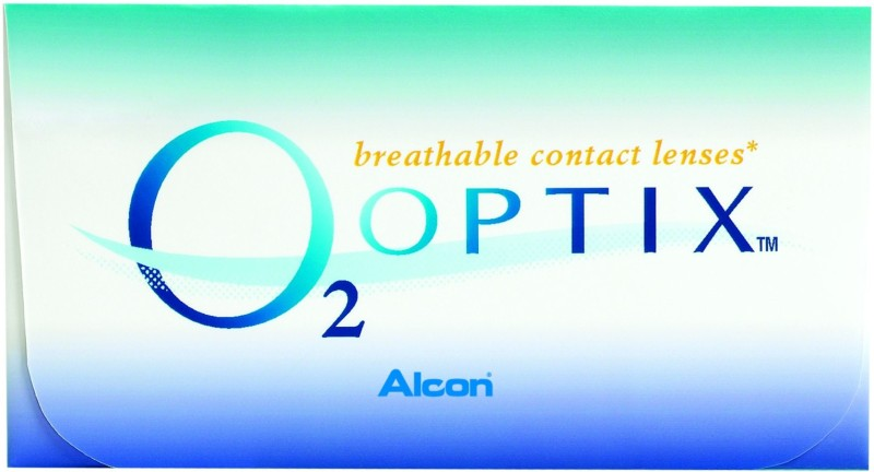 Alcon O2 Optix Monthly Contact Lens(-2, Clear, Pack of 6)