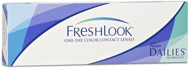 Alcon Freshlook One-Day Color Pure Hazel (Power 0.00) - 10 Lens Pack By AEC Daily Contact Lens(0, Pure Hazal, Pack of 10)