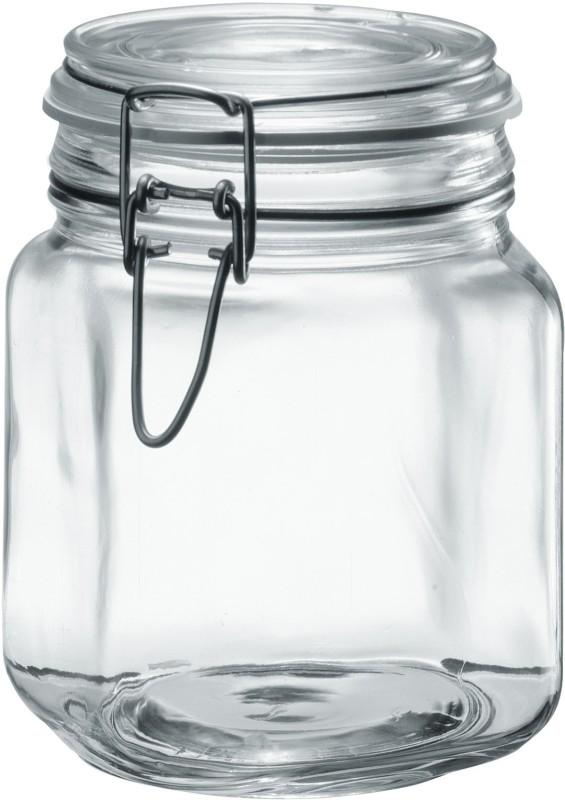 Borgonovo  - 1000 ml Glass Food Storage(Pack of 3, Clear)