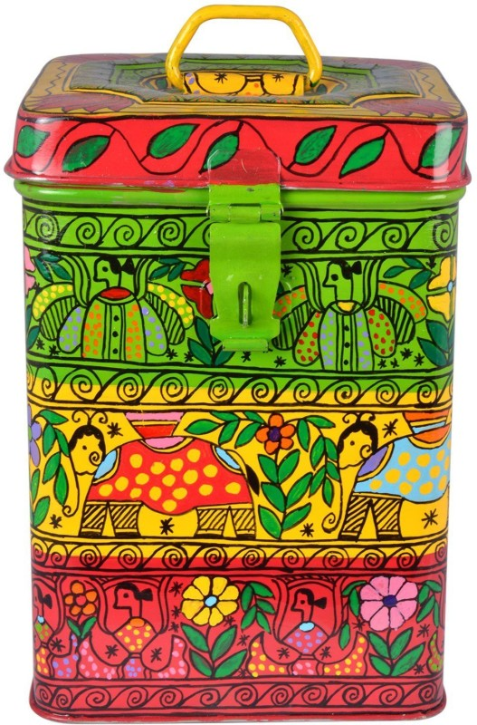 Kaushalam Exotic Celebration  - 3 L Steel Grocery Container(Multicolor)