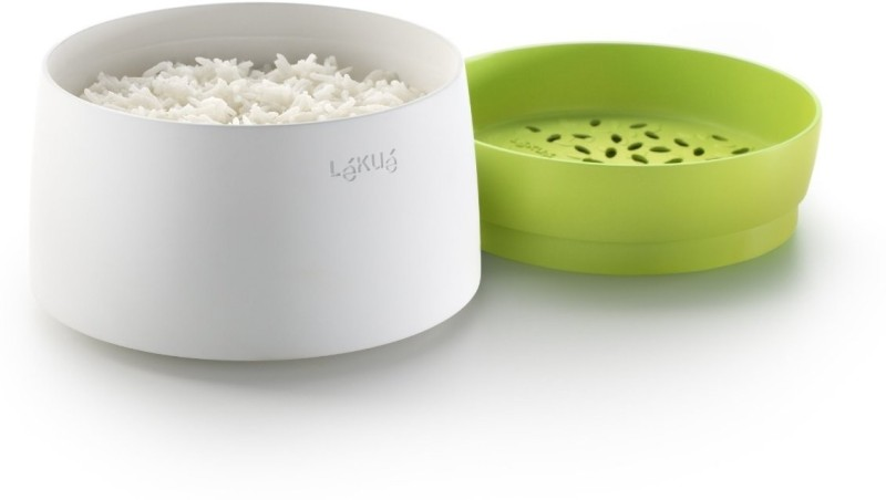 Lekue  - 1 ml Silicone, Plastic Grocery Container(White, Green)