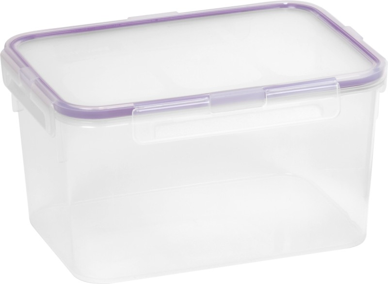 Snapware Airtight - 2560 ml Plastic Grocery Container(Purple, Clear)