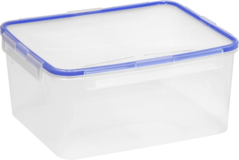 Snapware Airtight - 4300 ml Plastic Food Storage(Blue, Clear)