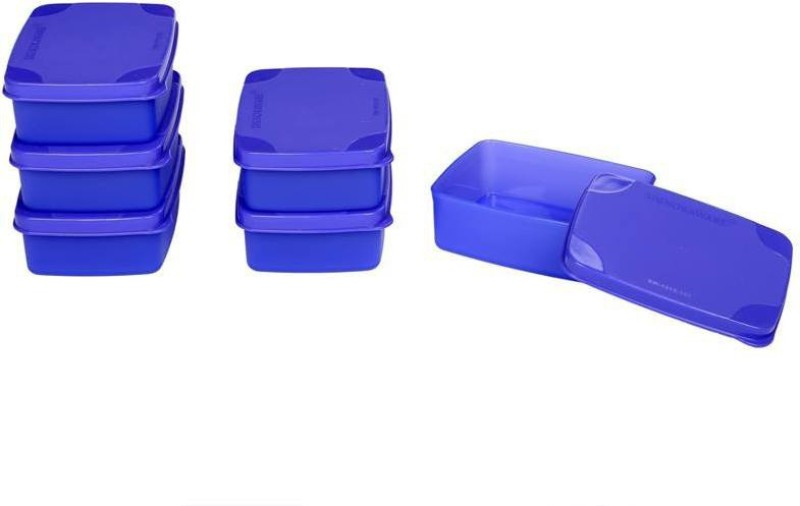 Signoraware Handy Square  - 150 ml Plastic Grocery Container(Pack of 6, Purple)