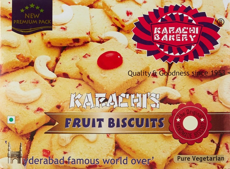 Karachi Bakery Fruit Hyderabad Speciality 400g (Pack of 2)(400 g, Pack of 2)