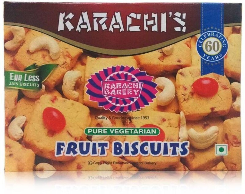 Karachi Bakery Fruit Hyderabad Speciality 900g (Pack of 2)(900 g, Pack of 2)