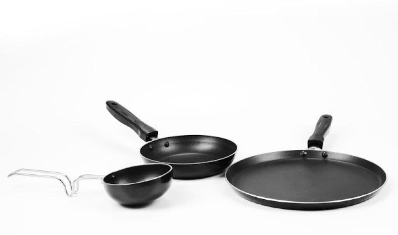 Sumeet Nonstick Triumph Cookware Set(Aluminium, 3 - Piece)