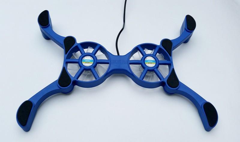 Zebronics Nc-500 2 Fan Cooling Pad(Blue)