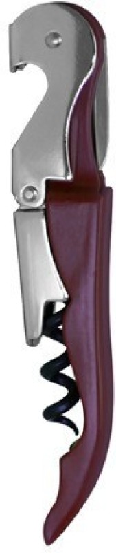 Hotwine Maroon Stainless Steel Double Lever Corkscrew