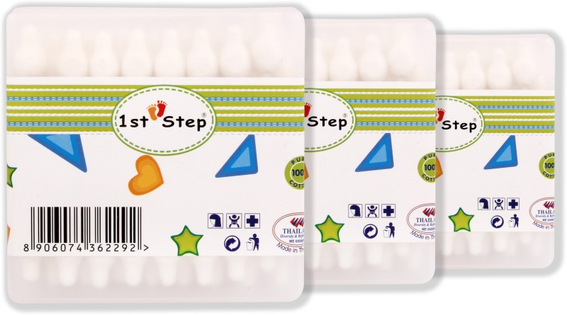 1st Step Baby Cotton Buds(56 Units)