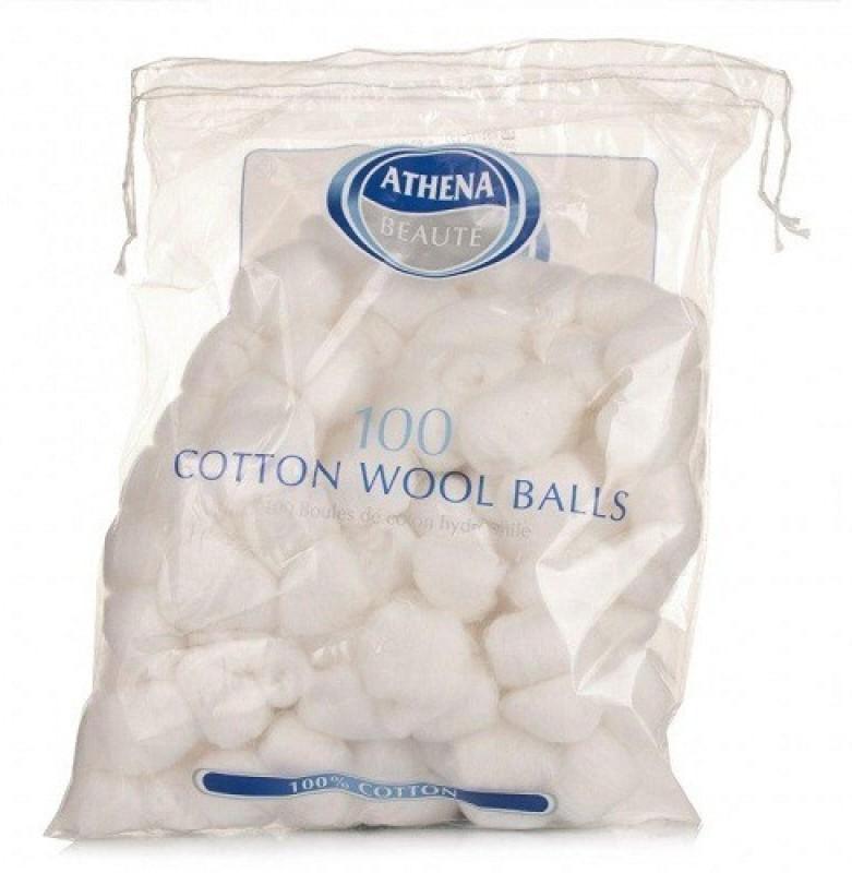 Athena Athena Cotton Balls(100 Units)