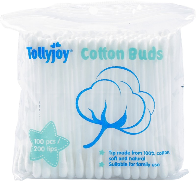 Tollyjoy Cotton Swabs~100 Sticks(100 Units)