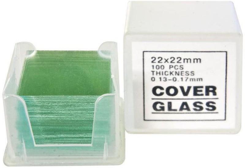 Jainco Scientific CS18MM Blank Cover Slip(Square Pack of 200)
