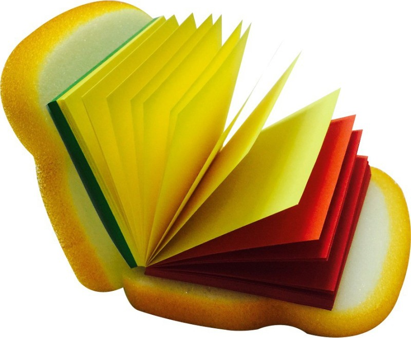 Priyankish Bread Notepad Mini Note Pad 97 Pages(Yellow)