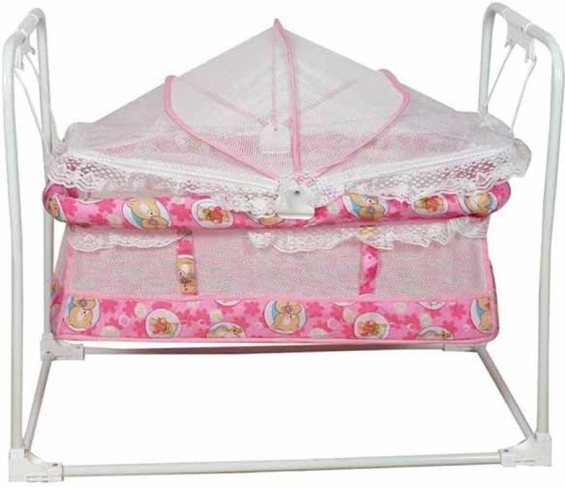 Variety Gift Centre Birdie Baby Cradle(Pink)