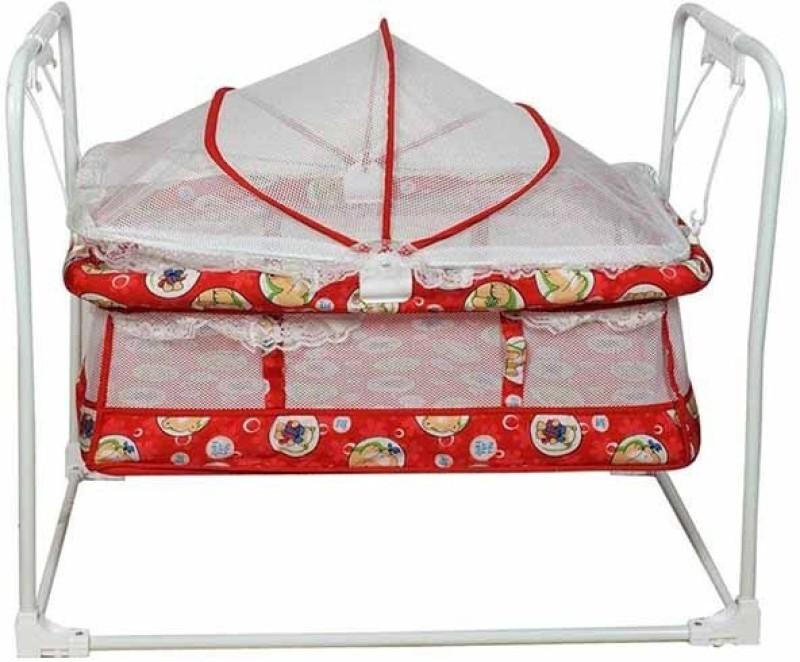 Variety Gift Centre Birdie Baby Cradle(Red)