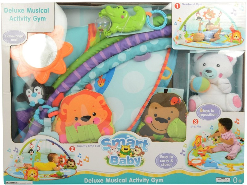Baby Care SmartBaby Musical Activity Gym(Multicolor)